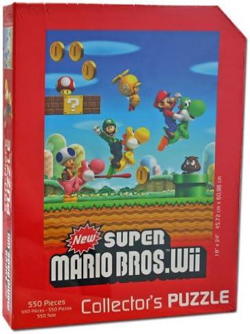 Amazon Com Usaopoly New Super Mario Bros Wii Edition Puzzle 2
