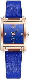 Elegant Watch For Women From Vansvar - Blue Leather