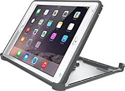 OtterBox DEFENDER SERIES Case for iPad Air 2 - Frustration Free Packaging - GLACIER (WHITE/GUNMETAL GREY)
