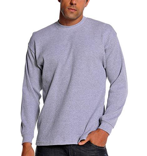 Heavyweight Cotton Thermal Crew Neck - 8