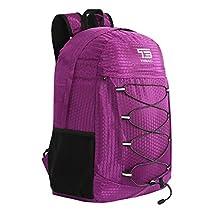 25/30/35L TIBAG Water Resistant Lightweight Packable Folding Foldable Daypack Backpack