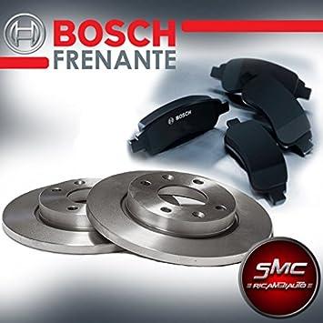 Discos de Freno y pastillas Bosch delantero 0986478892 + 0986494284: Amazon.es: Coche y moto