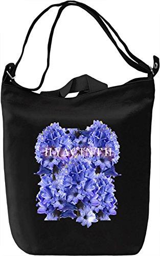Hyacinth Borsa Giornaliera Canvas Canvas Day Bag| 100% Premium Cotton Canvas| DTG Printing|
