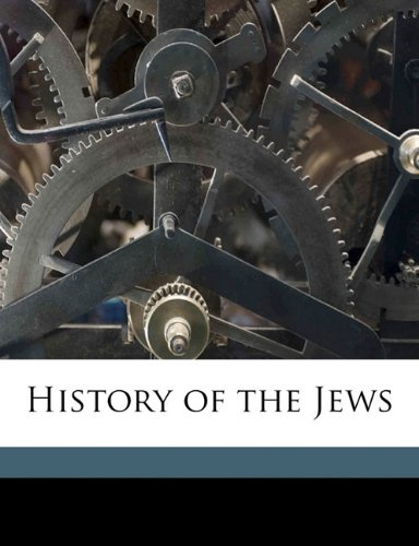 Download History of the Jews Volume 2 pdf epub