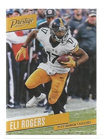82ba19799 Amazon.com  Football NFL 2017 Prestige  139 Eli Rogers Steelers ...