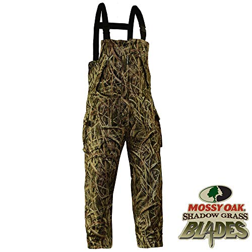 Rivers West Waterproof Windproof Camouflage Fleece Hunting Gear - Ambush Bib
