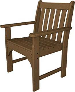 product image for POLYWOOD Vineyard Arm Chair, Teak