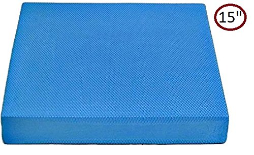 Yogu Balance Foam Pads – Choice: Large, XL and Multi Color (L - 15''x13''x2'', Red) by Yogu