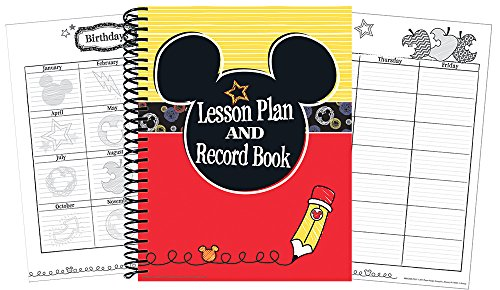 "Eureka Mickey Color Pop! 40 Week Lesson Plan and Record Book, Measures 8.5"" x 11"""