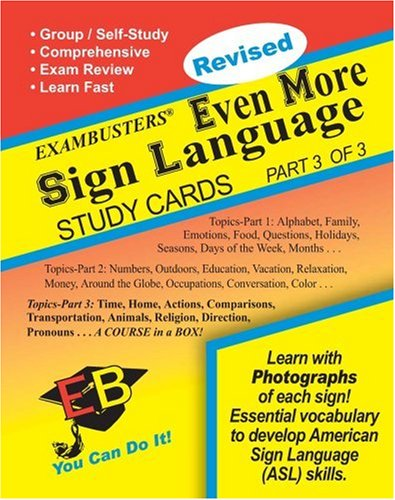 Language (3 of 3) Exambusters Study Cards (Ace's Exambusters) ()