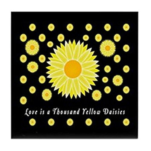 CafePress - Gilmore Girls TV Tile Coaster - Tile Coaster, Drink Coaster, Small - Daisy Coaster Tile
