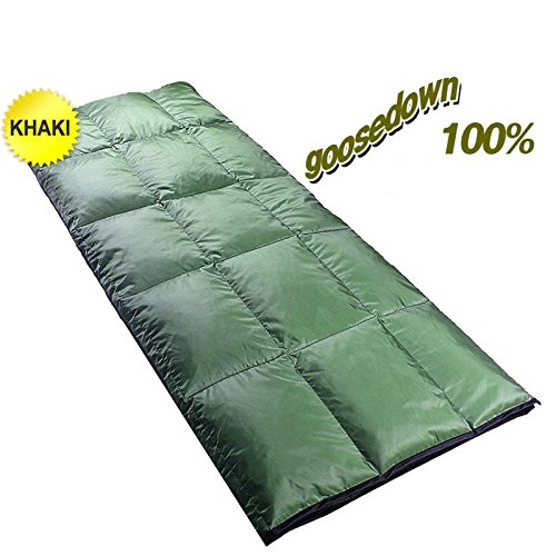Down Sleeping Bag 4 Season Lightweight Ultralight Camping Backpacking Compact by Sleeping Bag