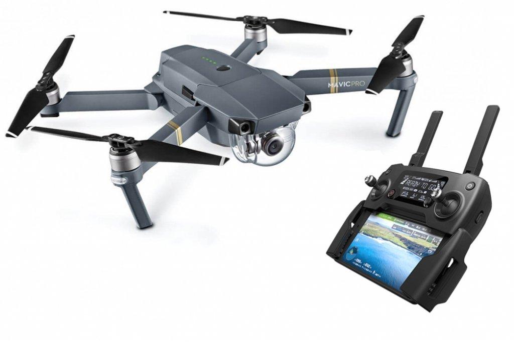 Drone cuadricóptero