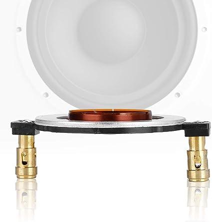 Zerone 34 4mm 8 Ohm Super Hochtöner Schwingspule Diy Titan Film Flache Audio Ersatz Für Heimkino System Audio Hifi
