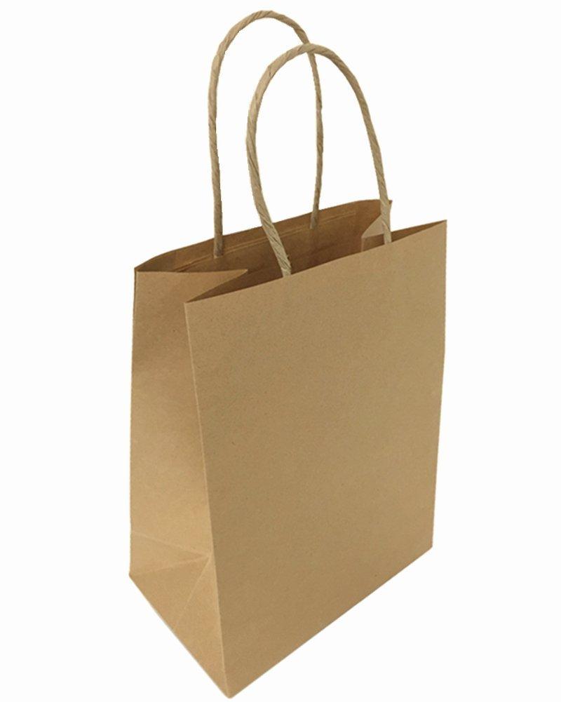 Amazon.com: metrogalaxy Premium Kraft Bolsa de papel 8