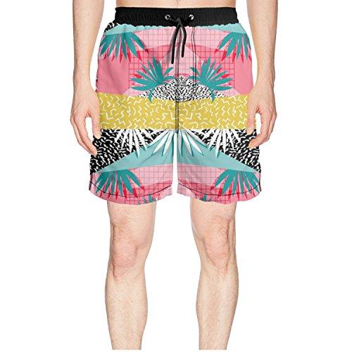 niceoneof_{id} Palm Tree Classic Mens Swim Shorts -