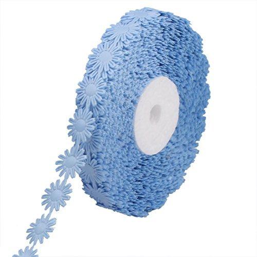 Amazon.com: El Regalo de boda del Partido de poliéster eDealMax decoración decoración del Pelo de la Cinta del Rollo Craft 20 yardas Azul claro: Health ...