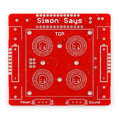SparkFun Simon Says - Through-Hole Soldering Kit