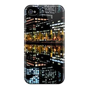AprilKStern Fashion Protective Nightlife Reflection Case Cover For Iphone 4/4s