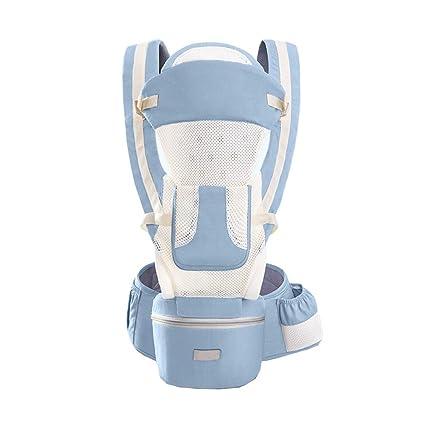 Bebé Portador Envolver, Respirable Ajustable Ergonómico Mochila ...