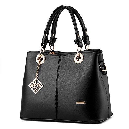 Wewod Handbags With Durable Handle / Shoulder Bag Woman / Waterproof Bag / Bag Shoulder Fashionable Shoulder 30 X 22 X 14 Cm (l * W * H) Rose Red