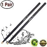 Drum sticks 5a Wood Tip drumsticks Classic Red drum stick (1 pair Black -5A drumstick)