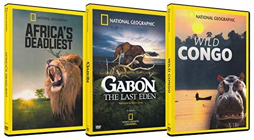 National Geographic Wild Lands Pack (Africa's Deadliest / Gabon the Last Eden / Wild Congo) (3-Pack) ()