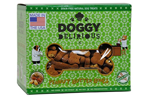 Doggy Delirious Peanut Butter Treats product image