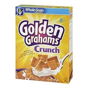 Golden Grahams Crunch Cereal, 340-Gram