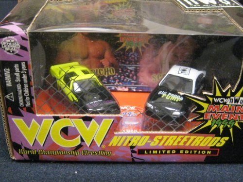 Nitro-streetrods WCW NWO Limited Edition 2 Car Set 1:64 Scale Main Event 1999 ()