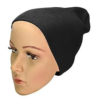 """DALIX Beanie Cap 8"""" in Black"""