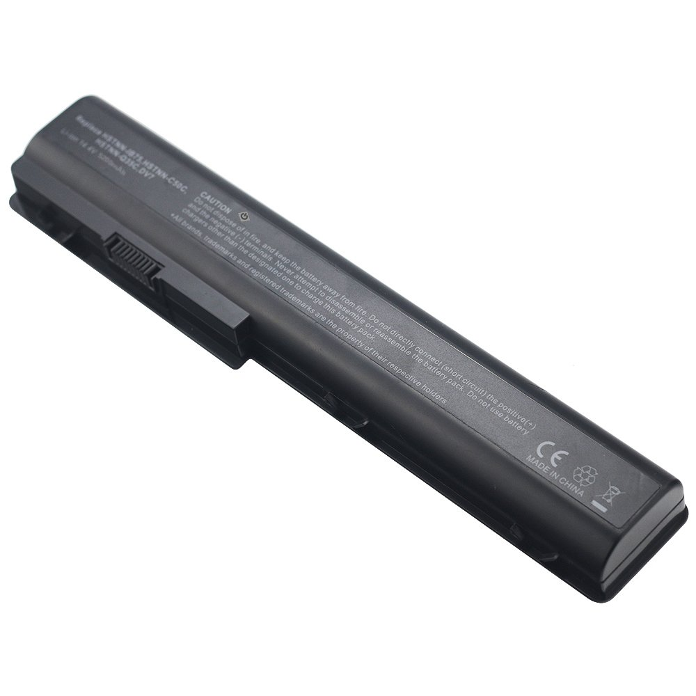 Amazon.com: Bay Valley Parts HP 464059-141 480385-001 516355-001 516916-001 HSTNN-DB74 High Capacity Battery for HP HDX X18-1000 X 18-1000EO X18-1001TX ...