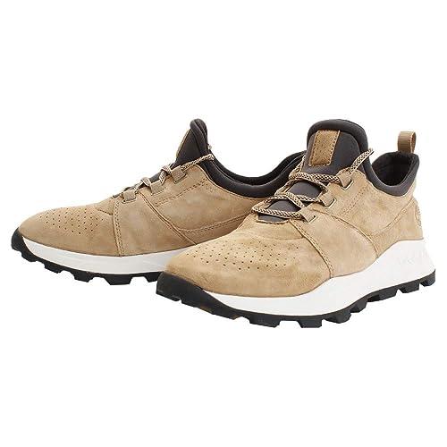 0b2d64b6 Zapatillas Deporte de Hombre TIMBERLAND A1YWN Brooklyn Medium Beige:  Amazon.es: Zapatos y complementos