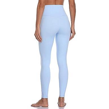 Mujer Pantalones De Yoga De Cintura Alta Ajustados ...