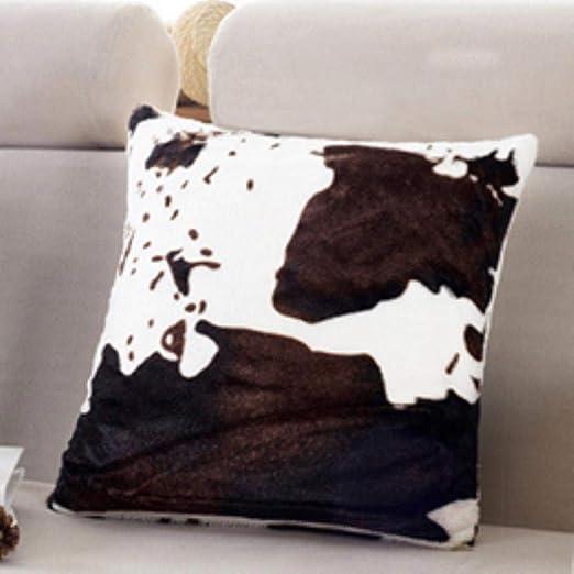 Westtreg Almohada s Leopard Style Wild Velvet Material s ...
