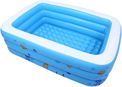 Piscina Hinchable Rectangular, Piscina Inflable Gigante For ...