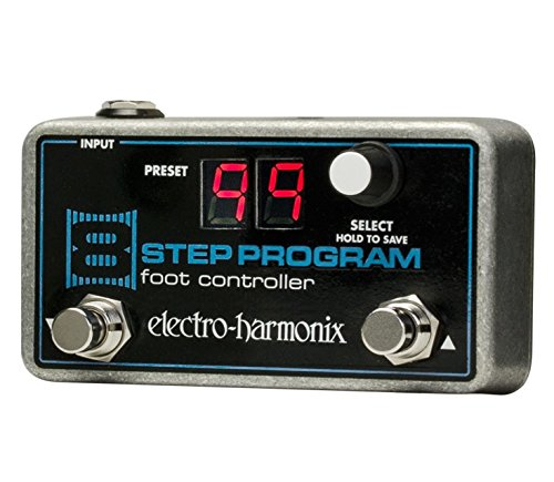 Electro-Harmonix 8-Step Foot Controller Guitar Expression Effect Pedal by Electro-Harmonix