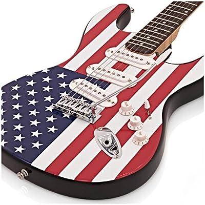 Guitarra Eléctrica LA + Pack Completo - Barras y Estrellas: Amazon ...