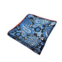 Sitong men's suit printed pocket square wedding handkerchief(KHP-101)