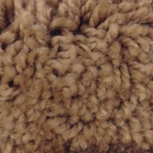 Mohawk Cut To Fit Plush Bath Carpet 5 By 6 Feet  Saddle Tan
