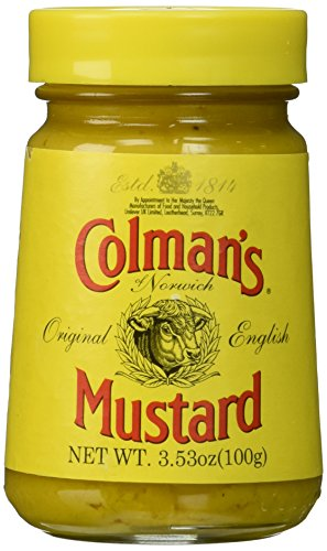 Prepared Mustard - Colmans Original English Mustard, 3.53 Ounce (2 pack)