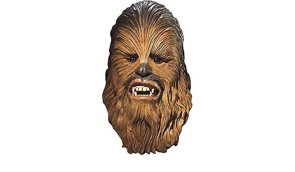 Générique - ma4192 - Máscara Licencia Luxe Chewbacca Adulto PVC - Talla única: Amazon.es: Juguetes y juegos