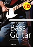 The Bass Guitar, Paul Scott, 0007261144