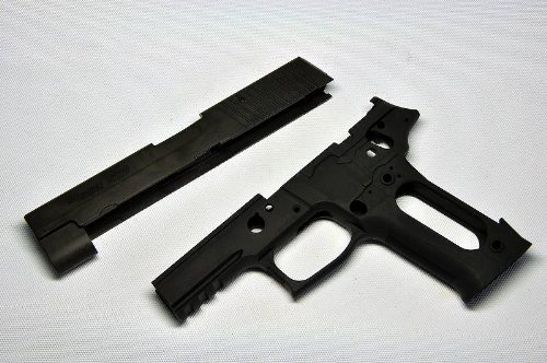 GUARDER 東京マルイ SIG P226E2用 SIG P226E2 アルミコンバージョンキット ブラック P226-35BK B006NILXXQ