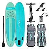 Best Inflatable Sups - Retrospec Weekender 10' Inflatable Stand Up Paddleboard Triple Review
