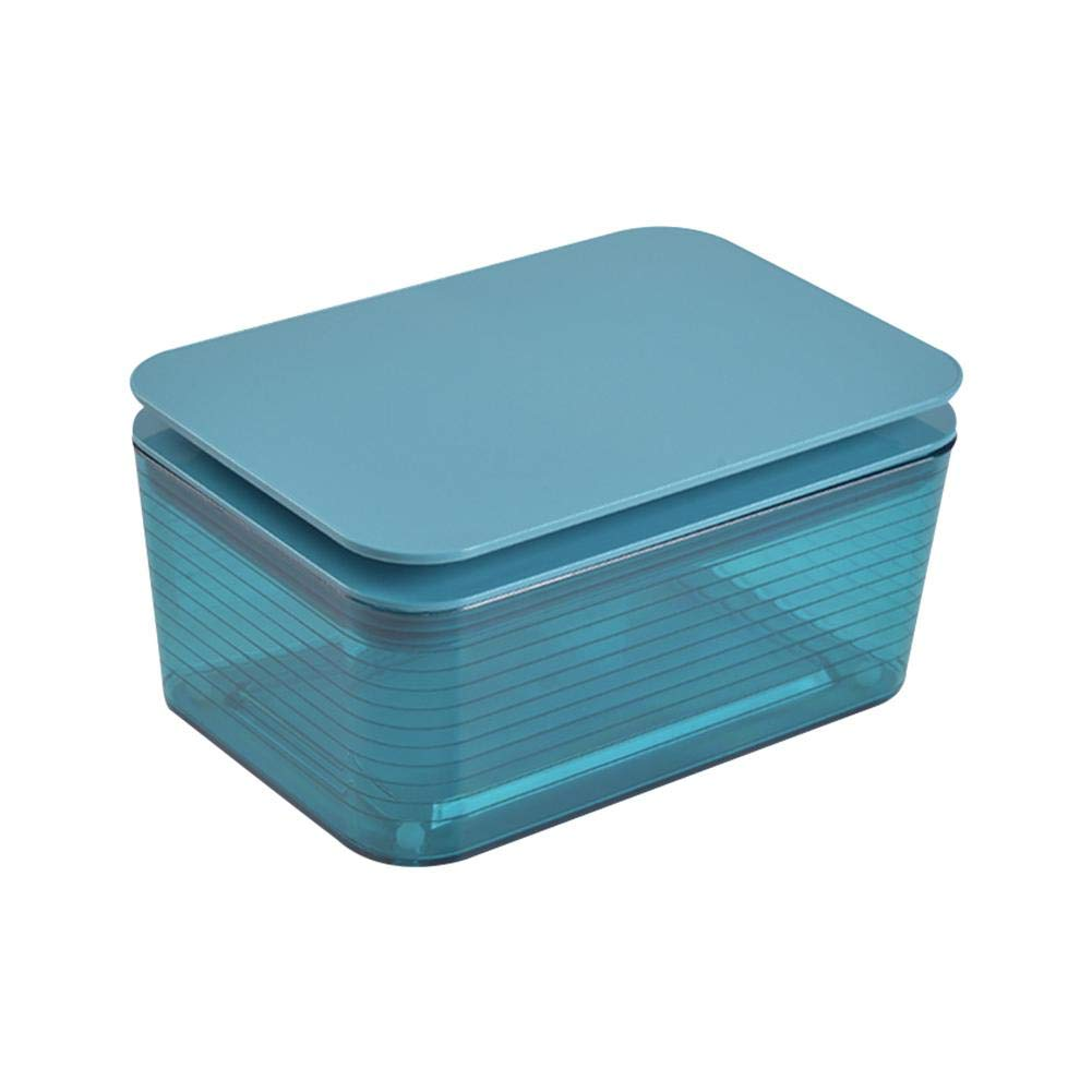 bulrusely Rect/ángulo Caja para Pa/ñuelos de Papel con toallitas Toallitas h/úmedas para Toallas de Papel 17x12x8.5cm Cute Custody toallitas h/úmedas