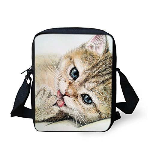 HUGS pour Sac Cat Marron 3 petit 3 Y bandoulière femme H11630E IDEA Cat Xtqa1rX