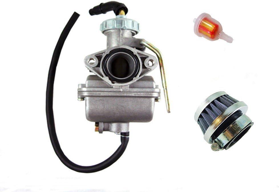 20mm PZ20 Carburetor Repair Rebuild Kit For 50cc 70 90 110cc 125cc ATV Dirt Bike