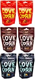 Love Corn Crunchy Corn Snack Variety Pack of 6 For Sale