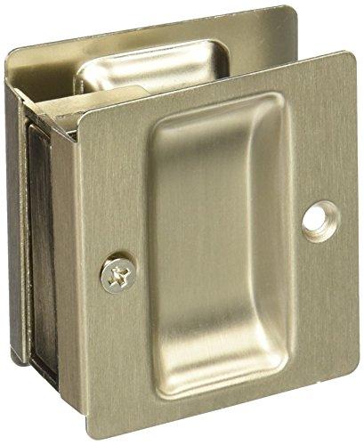 Weslock Weslock 00527XNXN Pocket Door, Satin Nickel